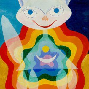 Дифракция белого света в интегрально-космическом сознании кошки!